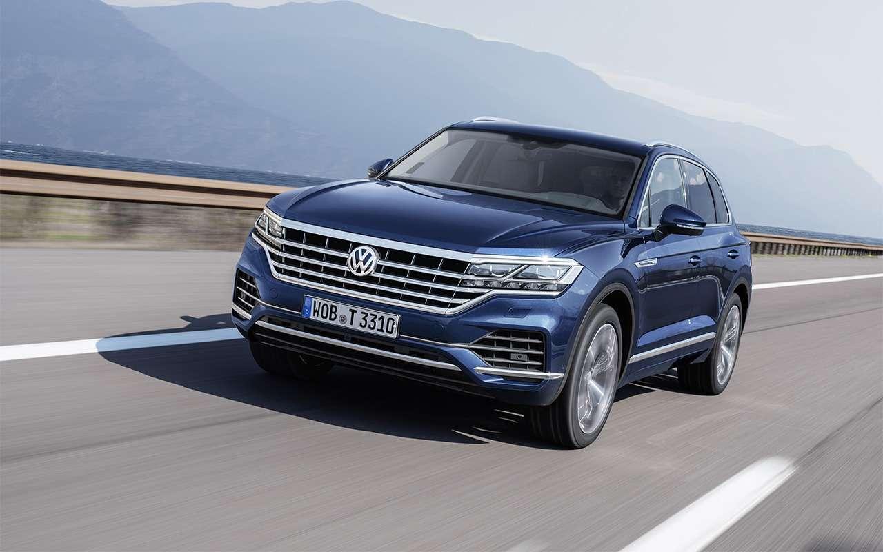 Тест-драйв нового Volkswagen Touareg: хочется большего— фото 871633
