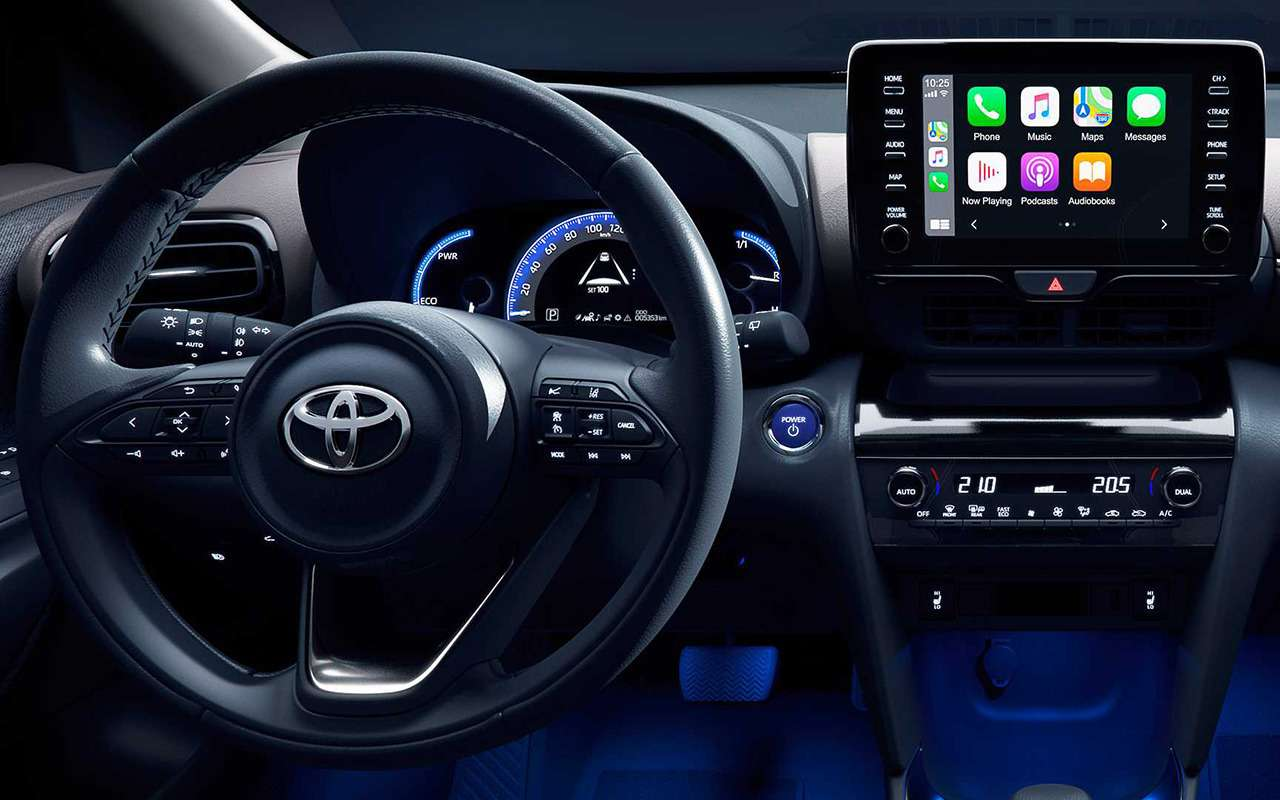 Toyota Yaris Cross дебютировал сполным приводом— фото 1119196
