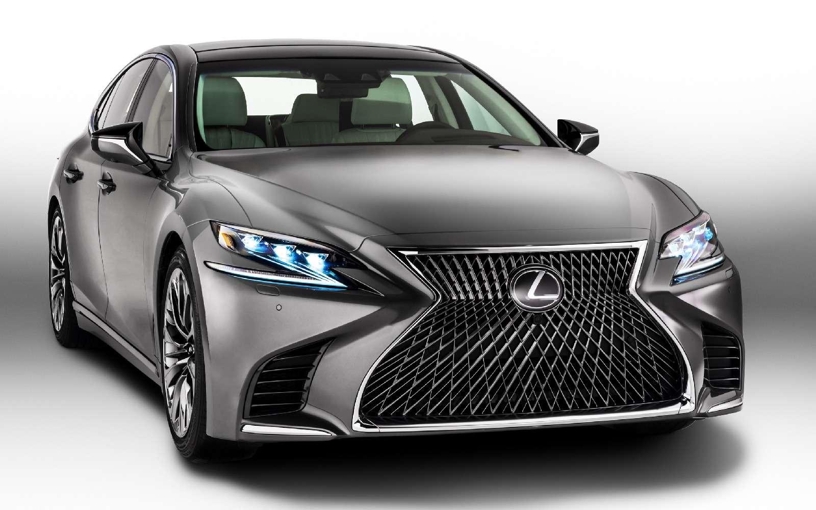 Проглотить S-класс: вДетройте дебютировал новый Lexus LS— фото 690251