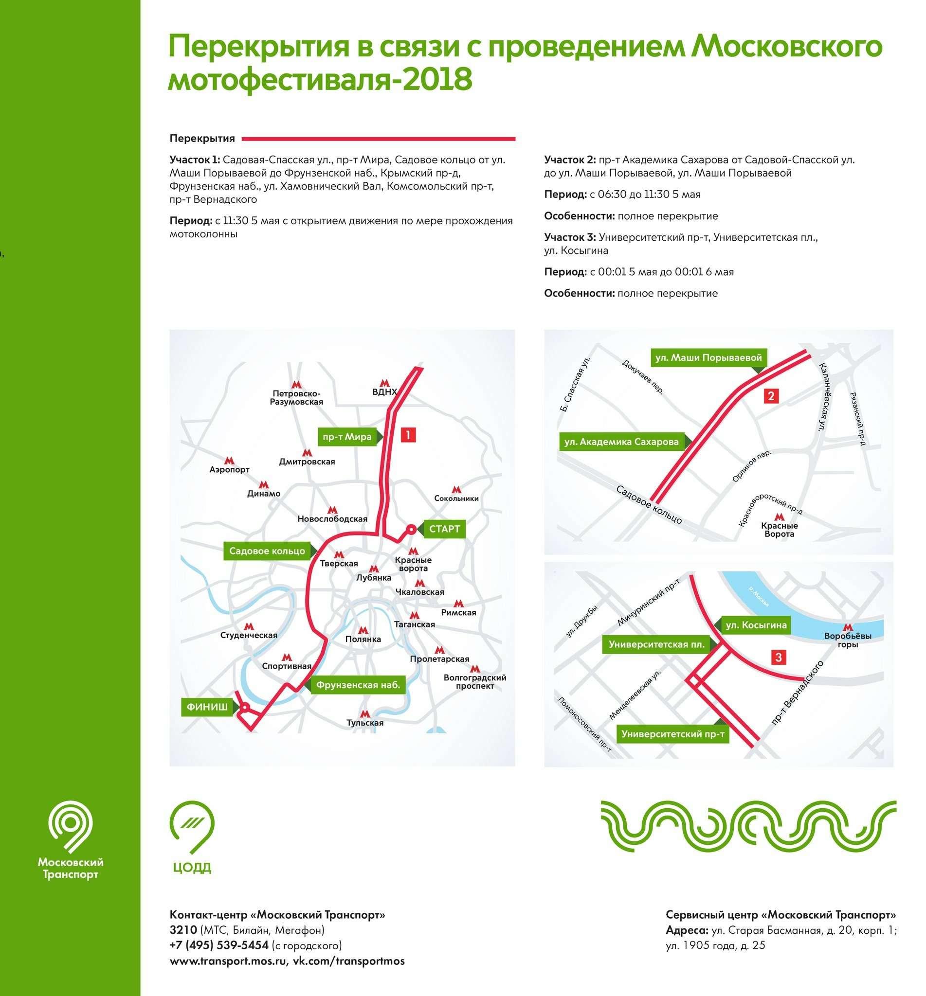 В ближайшие выходные дороги вМоскве перекроют ради байкеров итанков— фото 867804