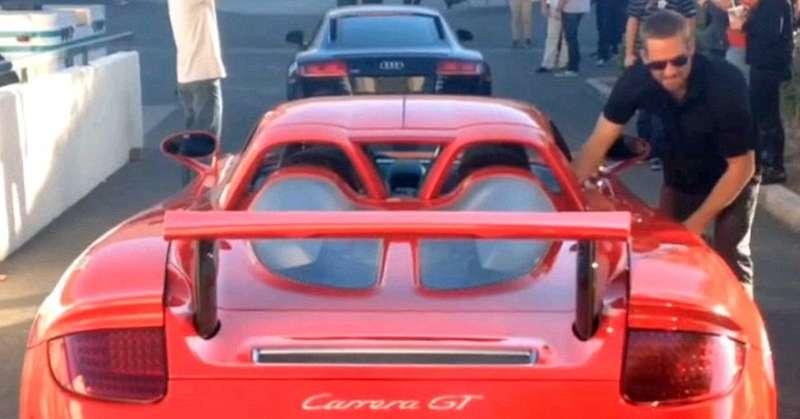 Причиной гибели Пола Уокера могла стать техническая неисправность Porsche Carrera GT