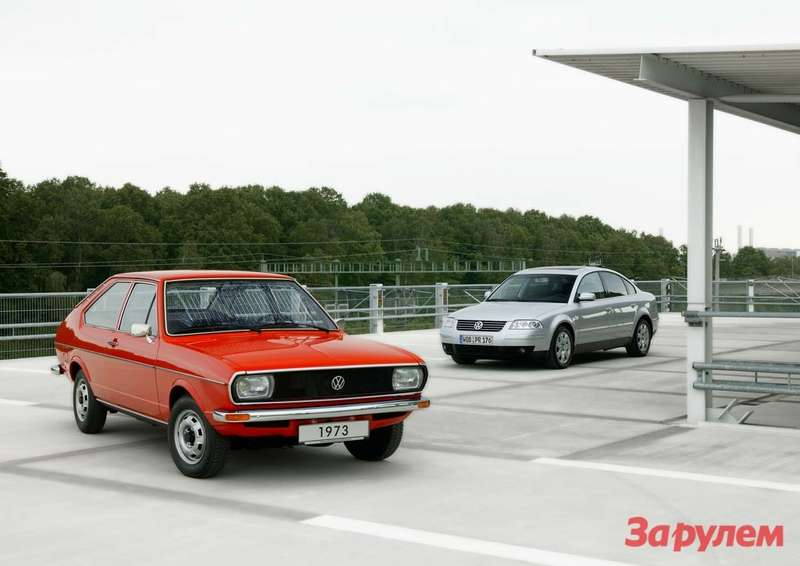 Volkswagen Passat Celebrates 40th Anniversary