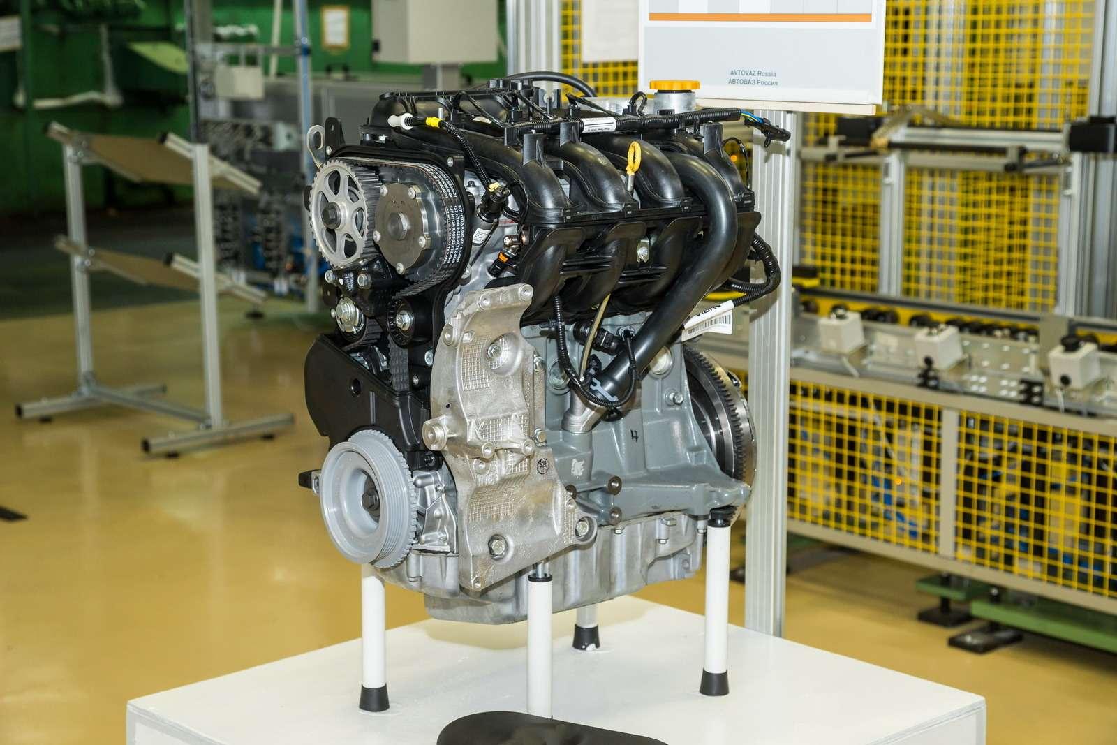 двигатель 21124 1 6 16v устройство схема