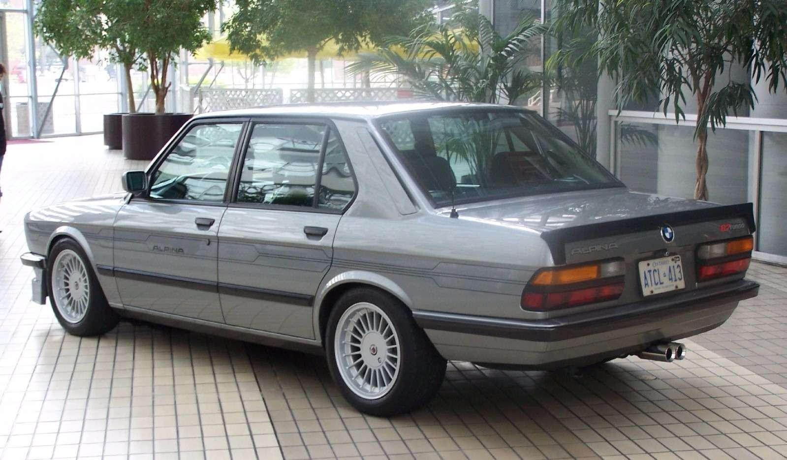 «Биммер» мечты: уникальная Alpina B7Turbo поцене нового BMW— фото 739724