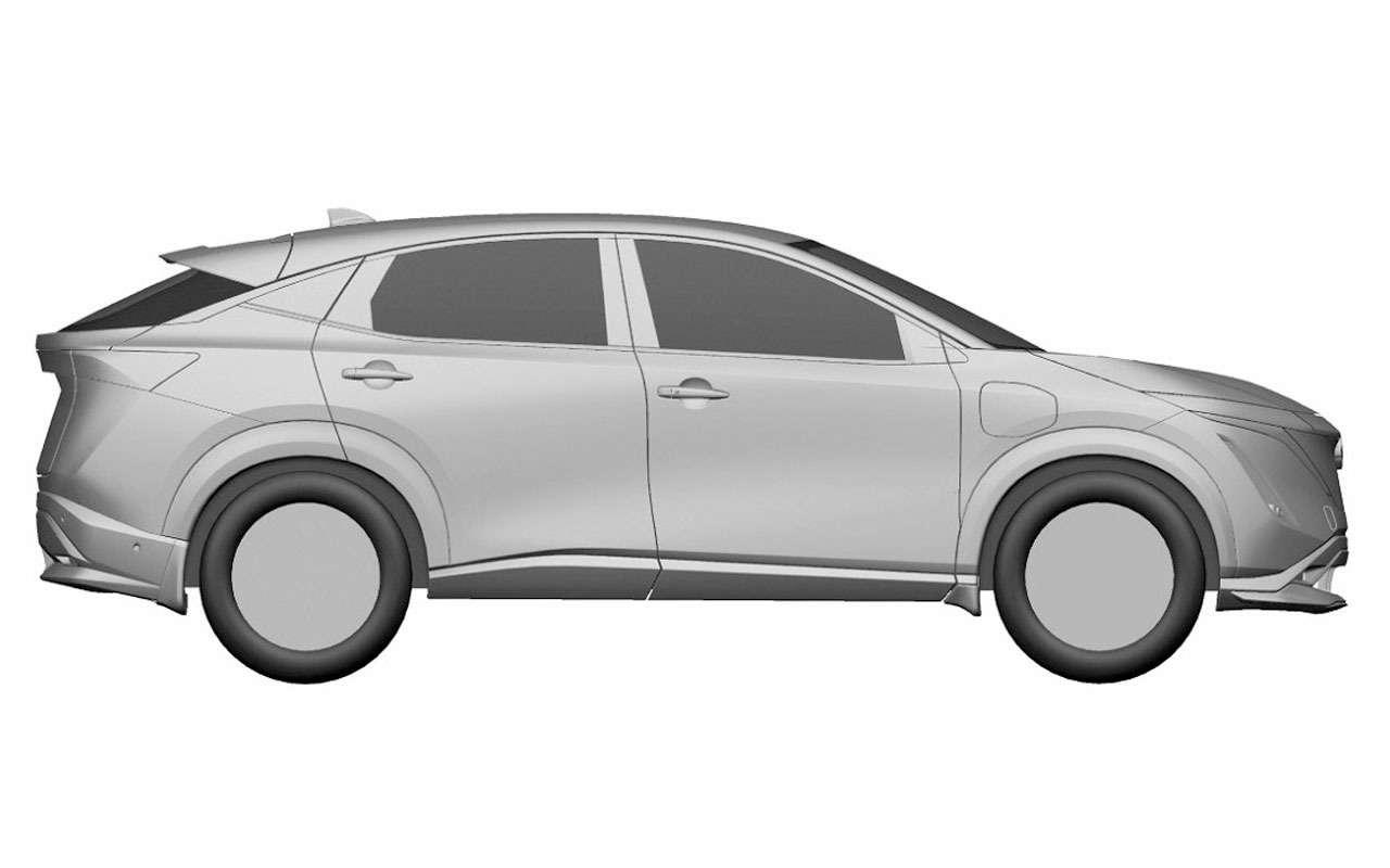 Nissan запатентовал новый кроссовер дляРоссии— фото 1195564