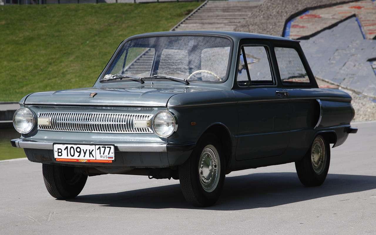 ЗАЗ‑966: история любимой машины наших дедов— фото 1211112