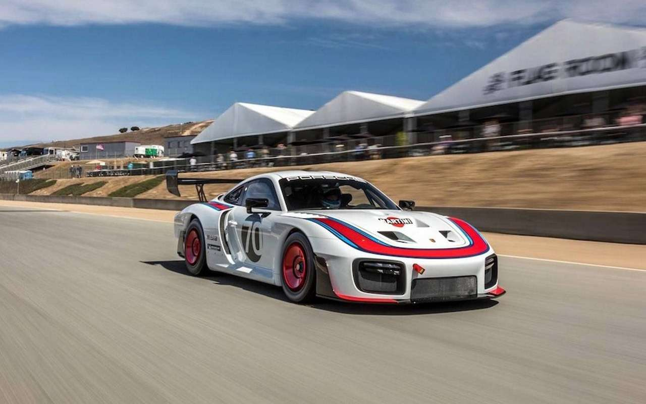 Возвращение Моби Дика: Porsche возродила легендарную модель— фото 911408