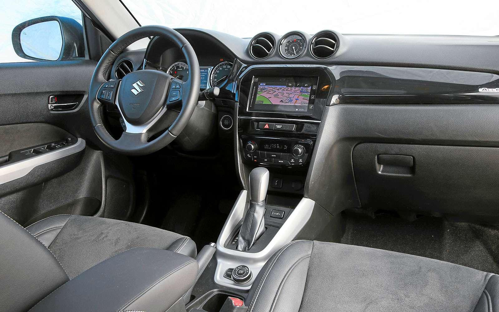 Renault Kaptur, Renault Duster, Suzuki Vitara: мода от-каптюр— фото 620110