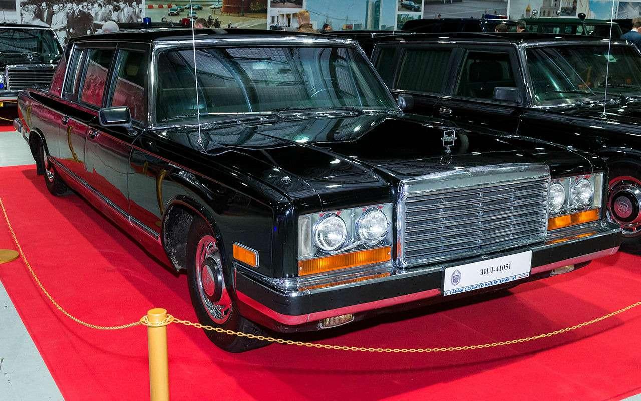 Бронированный лимузин Горбачева иЕльцина— как его строили— фото 1144860