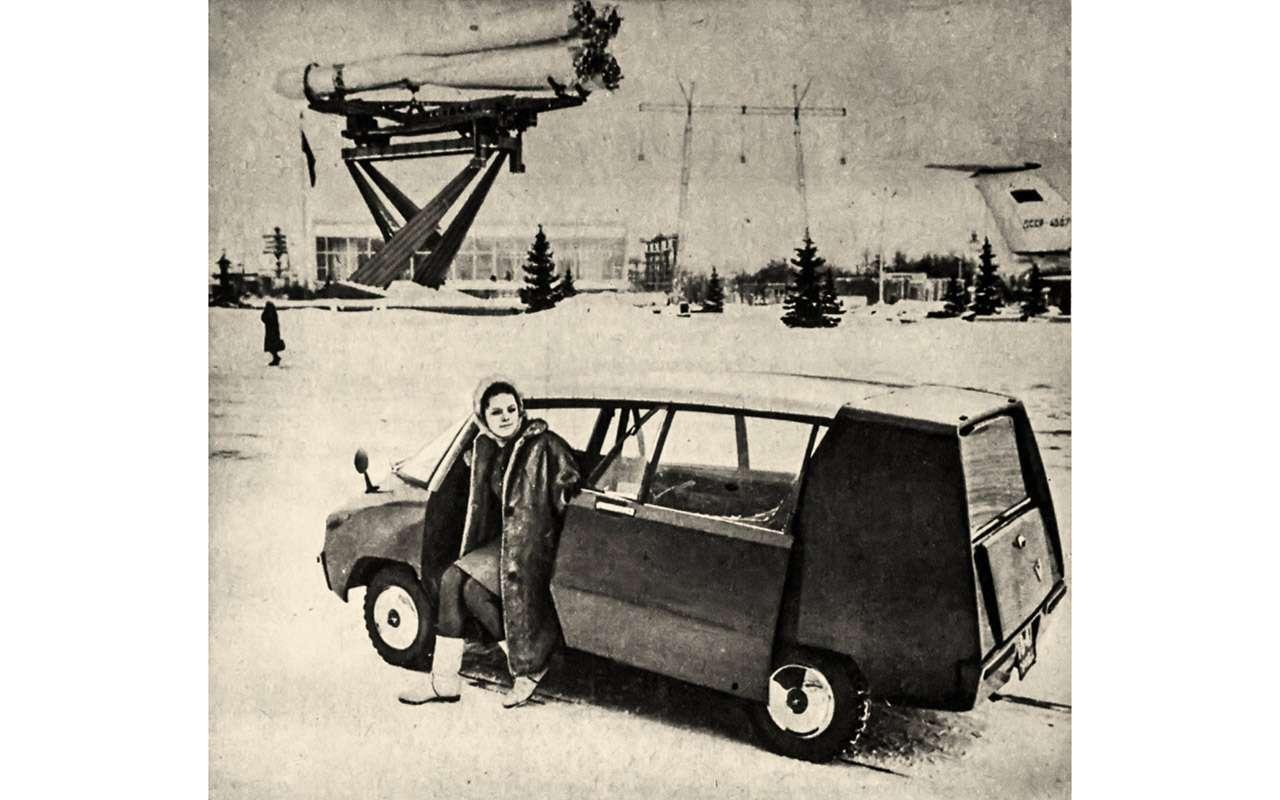 Всяправда офантазиях: авангардные проекты автопрома СССР— фото 897966
