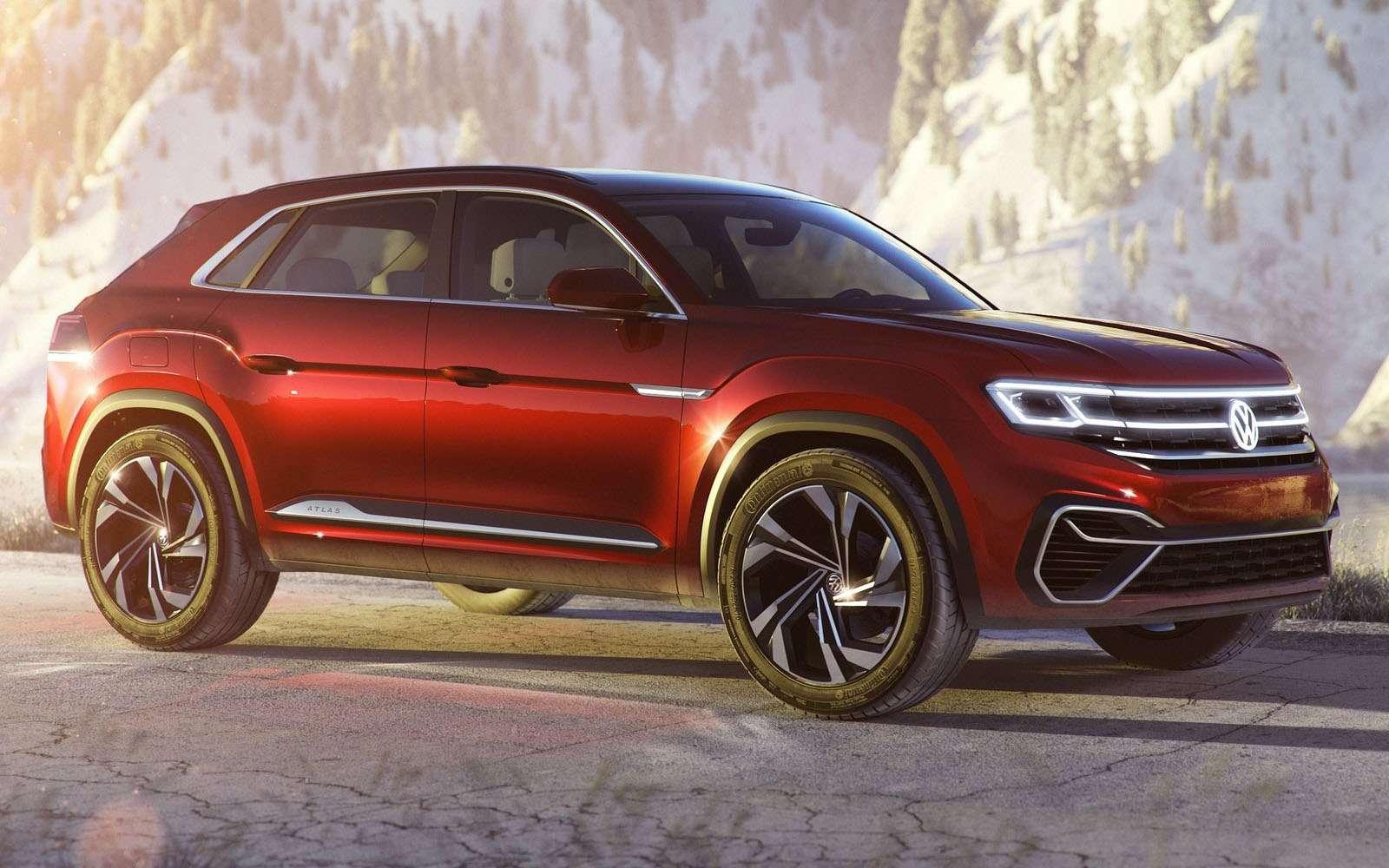 Volkswagen показал новый кроссовер. Ждем его вРоссии— фото 857620