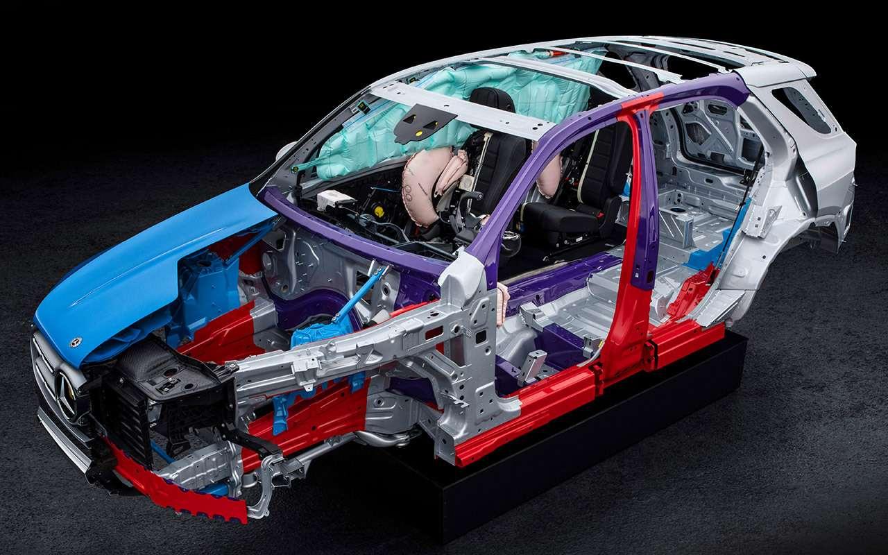 Барон Мюнхгаузен: новый Mercedes-Benz GLE ивсе его фишки— фото 941296