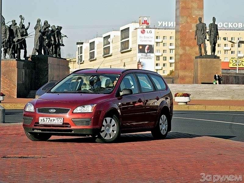 Дизельный Ford Focus:ТРИУМФ ЖАДИНЫ— фото 69435