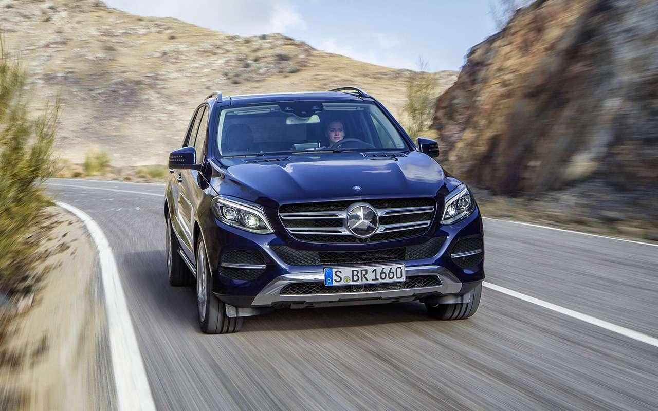 Mercedes-Benz GLE спробегом— все основные болячки— фото 1252114