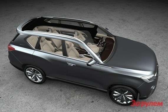 SsangYong LIV 1 Concept top view