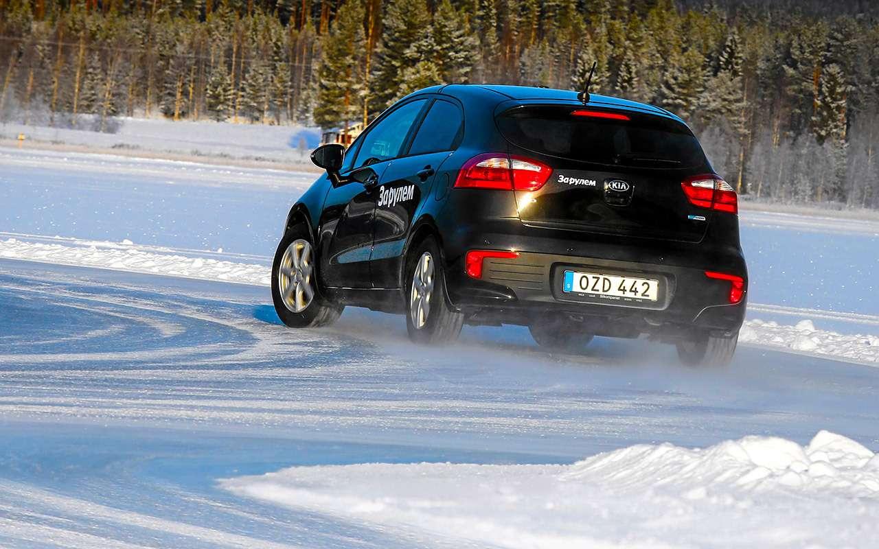 Шипованные шины 185/65R15для бюджетных автомобилей— тест «Зарулем»— фото 794289