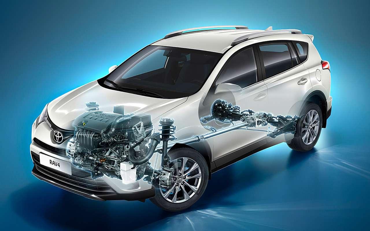 Toyota RAV4с пробегом— все неисправности— фото 1141786
