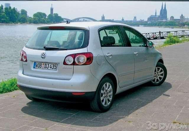 Volkswagen Golf Plus. Вагон задора— фото 58360