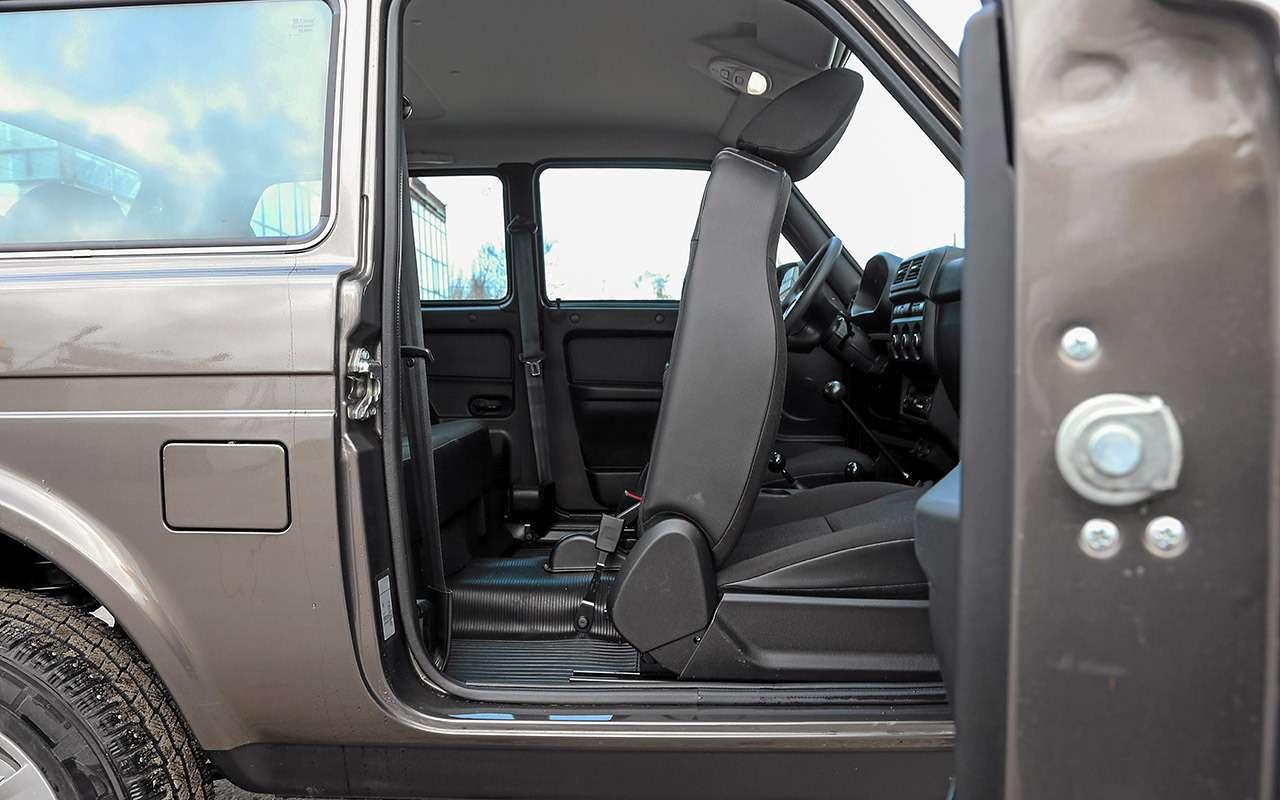 Обновленная Lada 4x4: что вней реально изменилось— фото 1121664