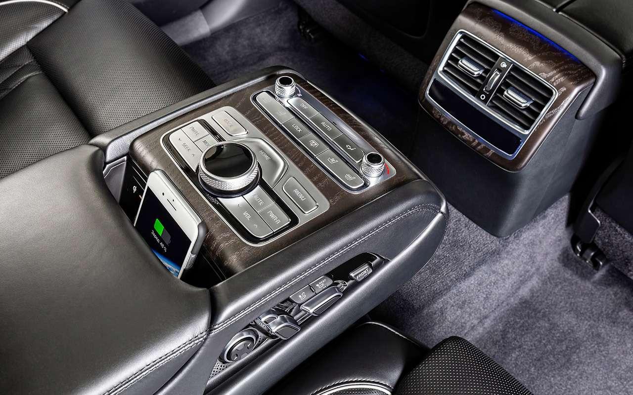 Самый дорогой седан Kia—  тест-драйв— фото 950820