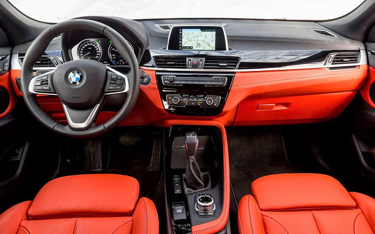 BMWX2и три вуме: большой тест компактного премиума— фото 868477