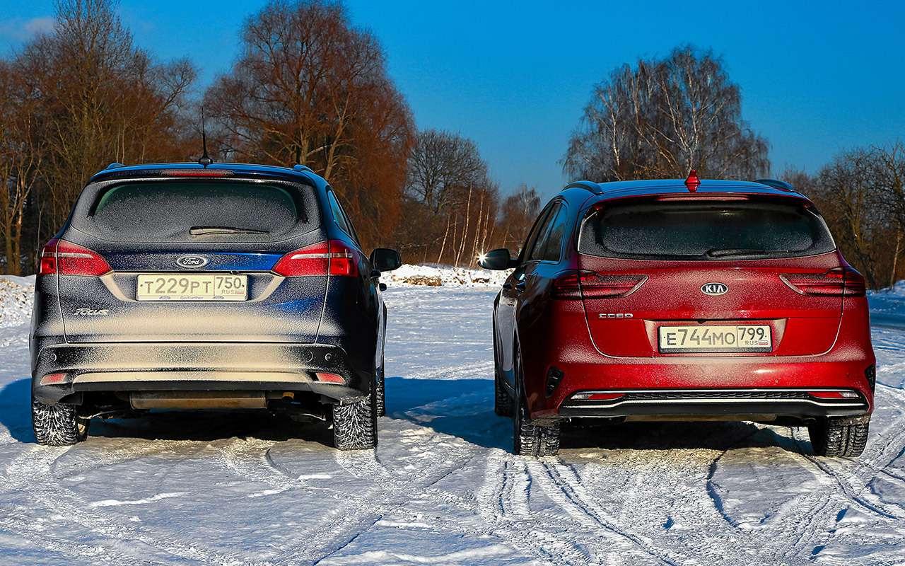 Большой тест универсалов: Ford против Kia— фото 959171