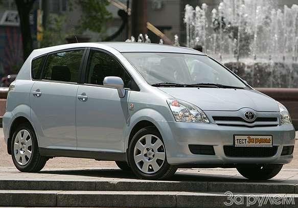 Toyota Corolla Verso. Такая нужна самому!— фото 57098