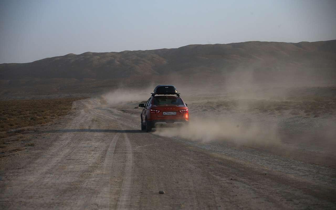 Автопробег «Зарулем»: Город ветров изаповедник Гобустан— фото 909899
