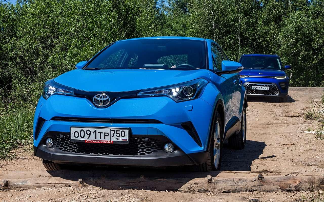 Большой тест стиляг: Toyota C-HR, Citroen C3Aircross иновый Kia Soul— фото 990484
