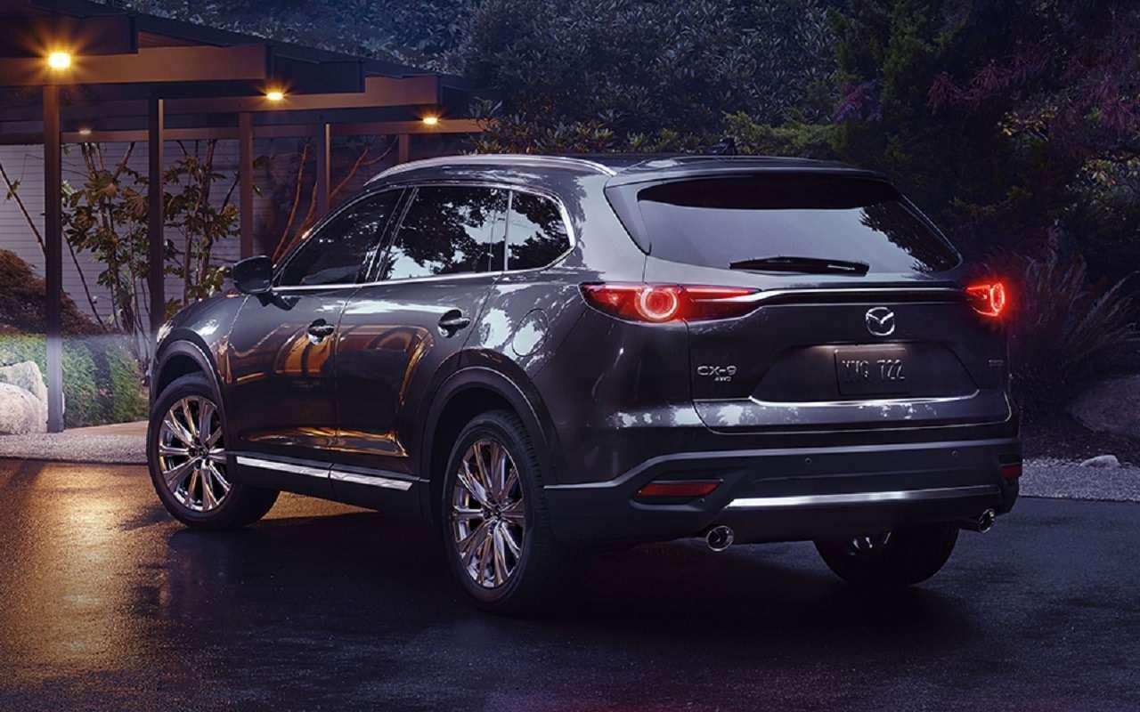 Обновленная Mazda CX-9: известна цена топ-версии— фото 1223449