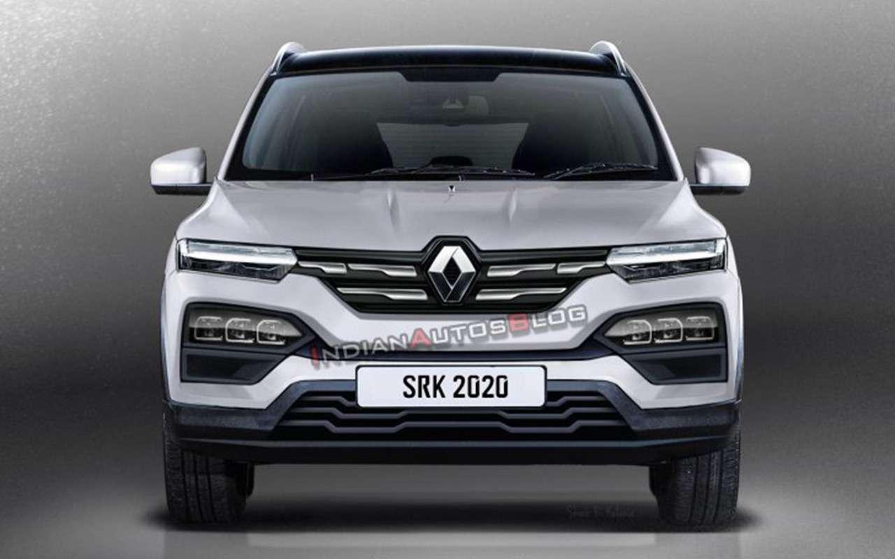 Renault Kiger «очистили» откамуфляжа— фото 1144847
