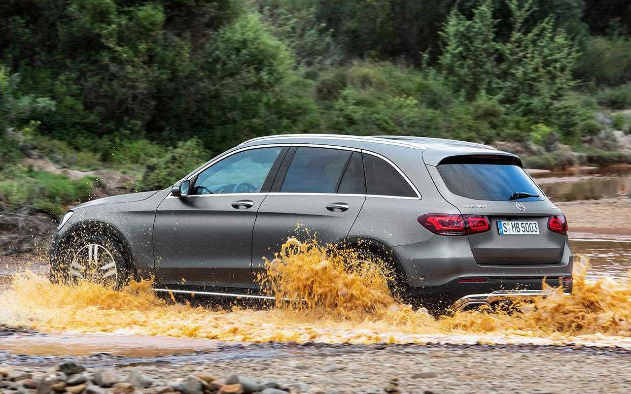 Обновленный Mercedes-Benz GLC: 10отличий— фото 953434