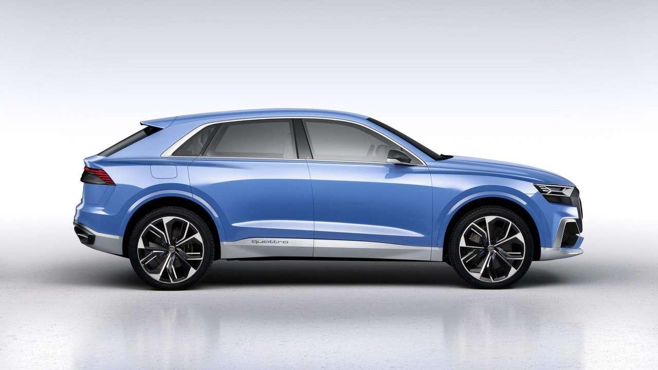 Угол зрения: концептуальный кроссовер Audi Q8поведал отоварной модели— фото 690563