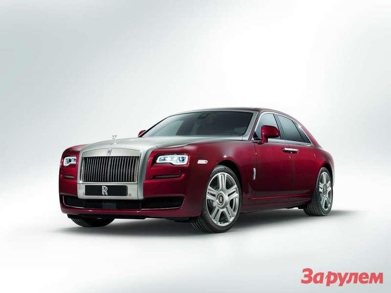В Женеве представлен Rolls-Royce Ghost Series II