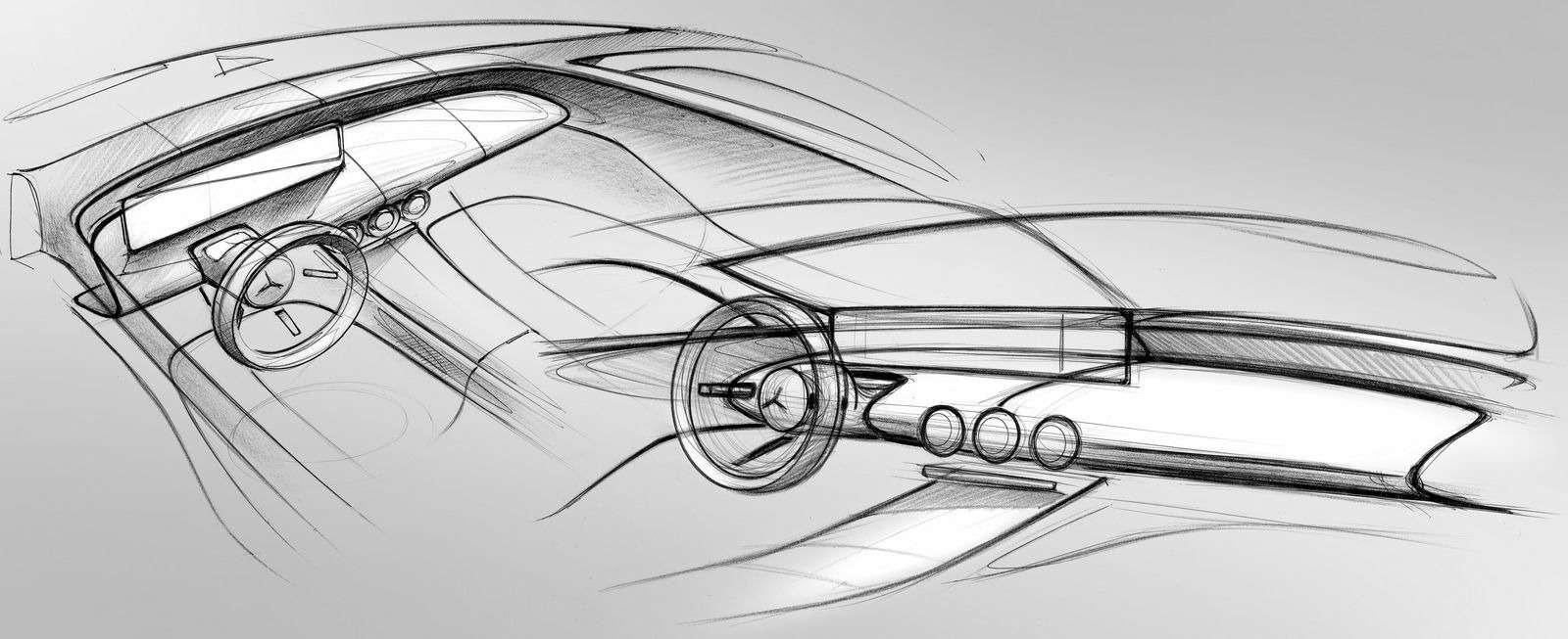Новый Mercedes-Benz A-класса: руль отS-класса ипланшет вместо приборов— фото 819432