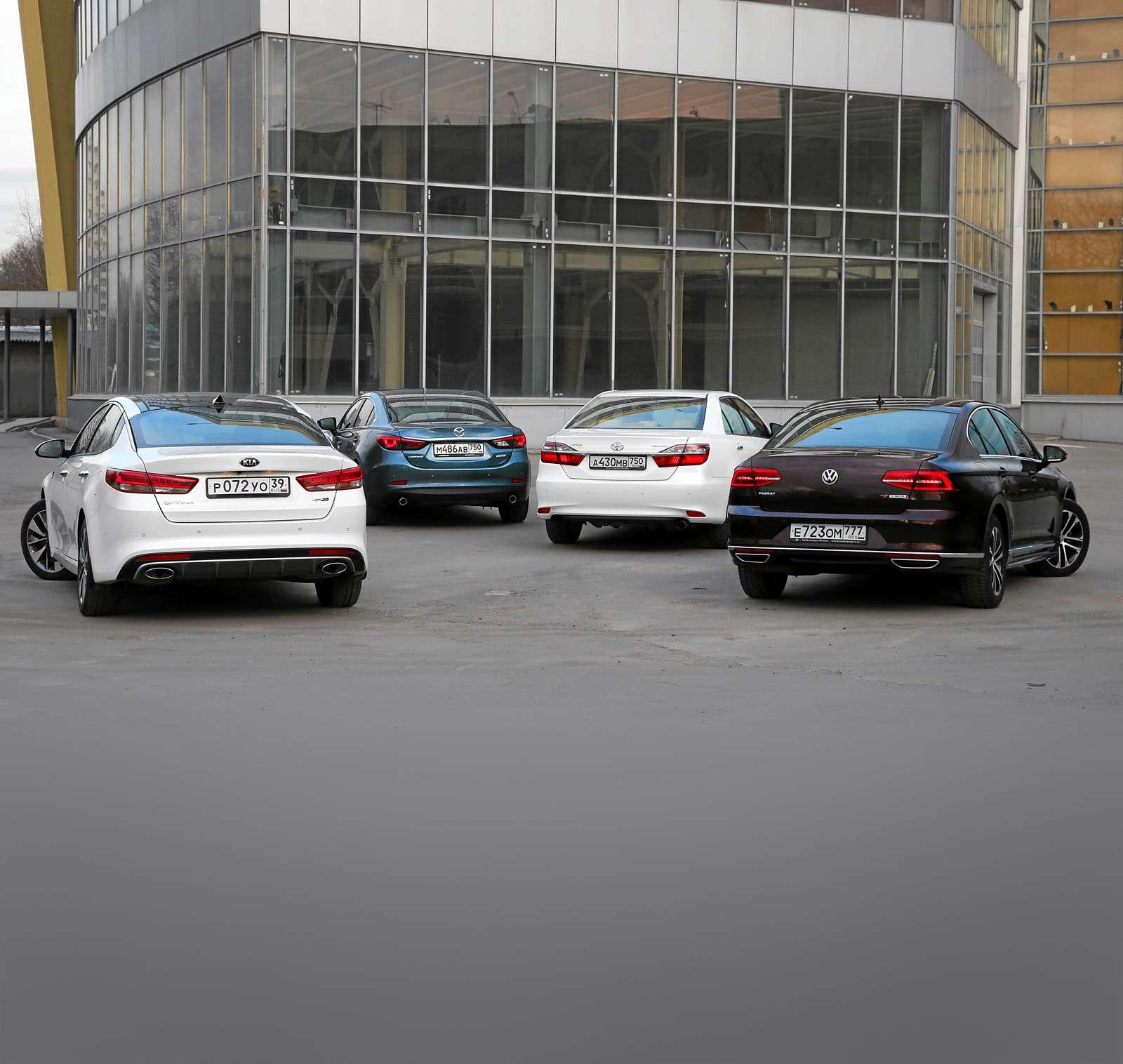 Супертест: новая Kia Optima против трех конкурентов— фото 596125