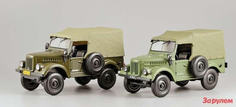 ГАЗ-69: «монгольский вариант» IST models