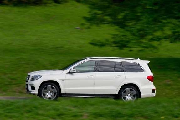 Mercedes-Benz GL 63 AMG side view