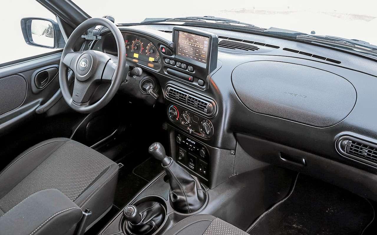 Lada Niva Travel— очень подробный тест— фото 1229353