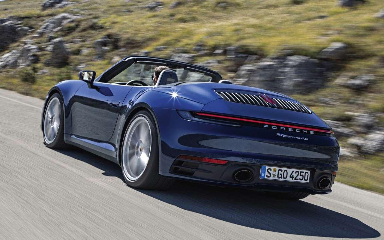 Всеоновом кабриолете Porsche 911— фото 939356