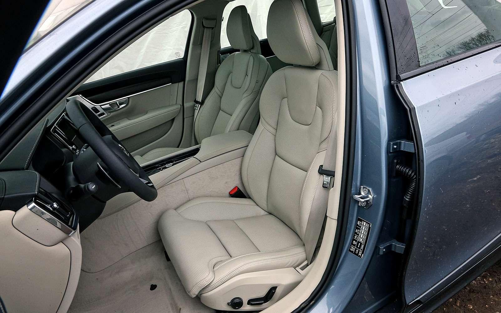 Тест-драйв Volvo V90 Cross Country— хорошо, нодорого— фото 764618
