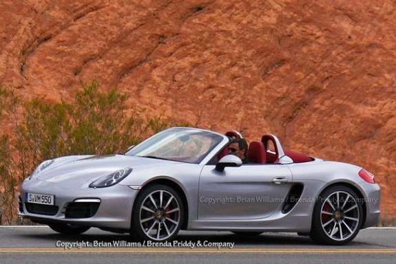 Next Porsche Boxster side-front view