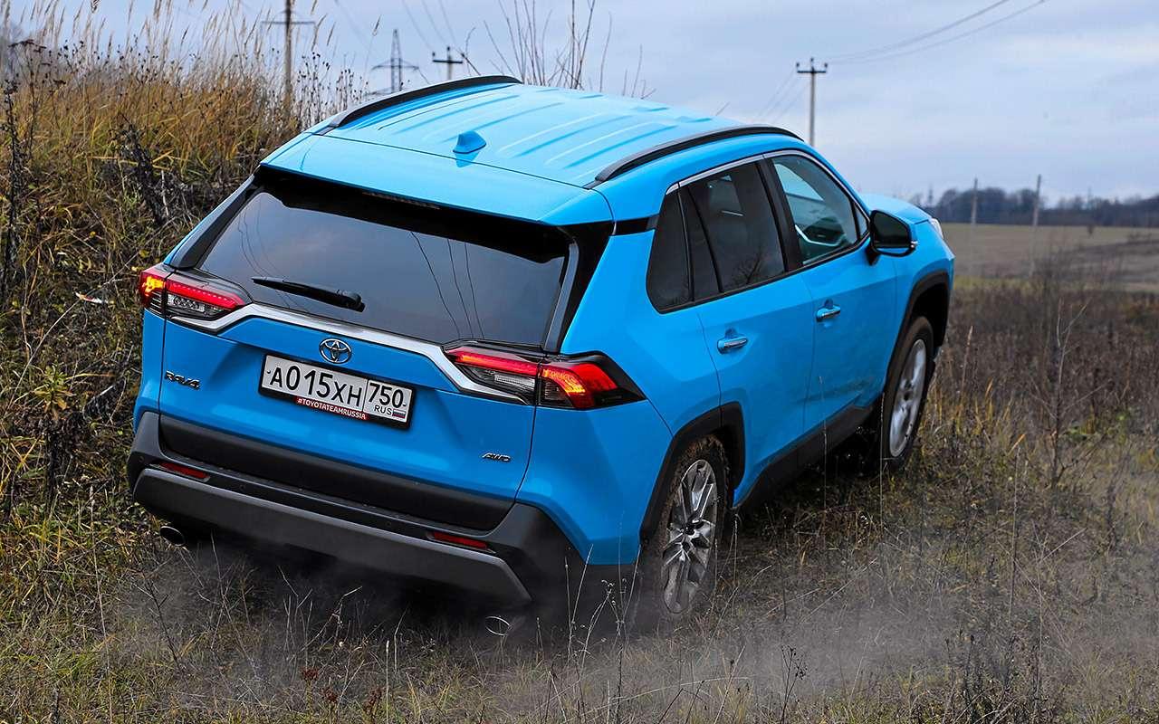 Новый Toyota RAV4, Forester иOutlander: большой тест кроссоверов— фото 1057723