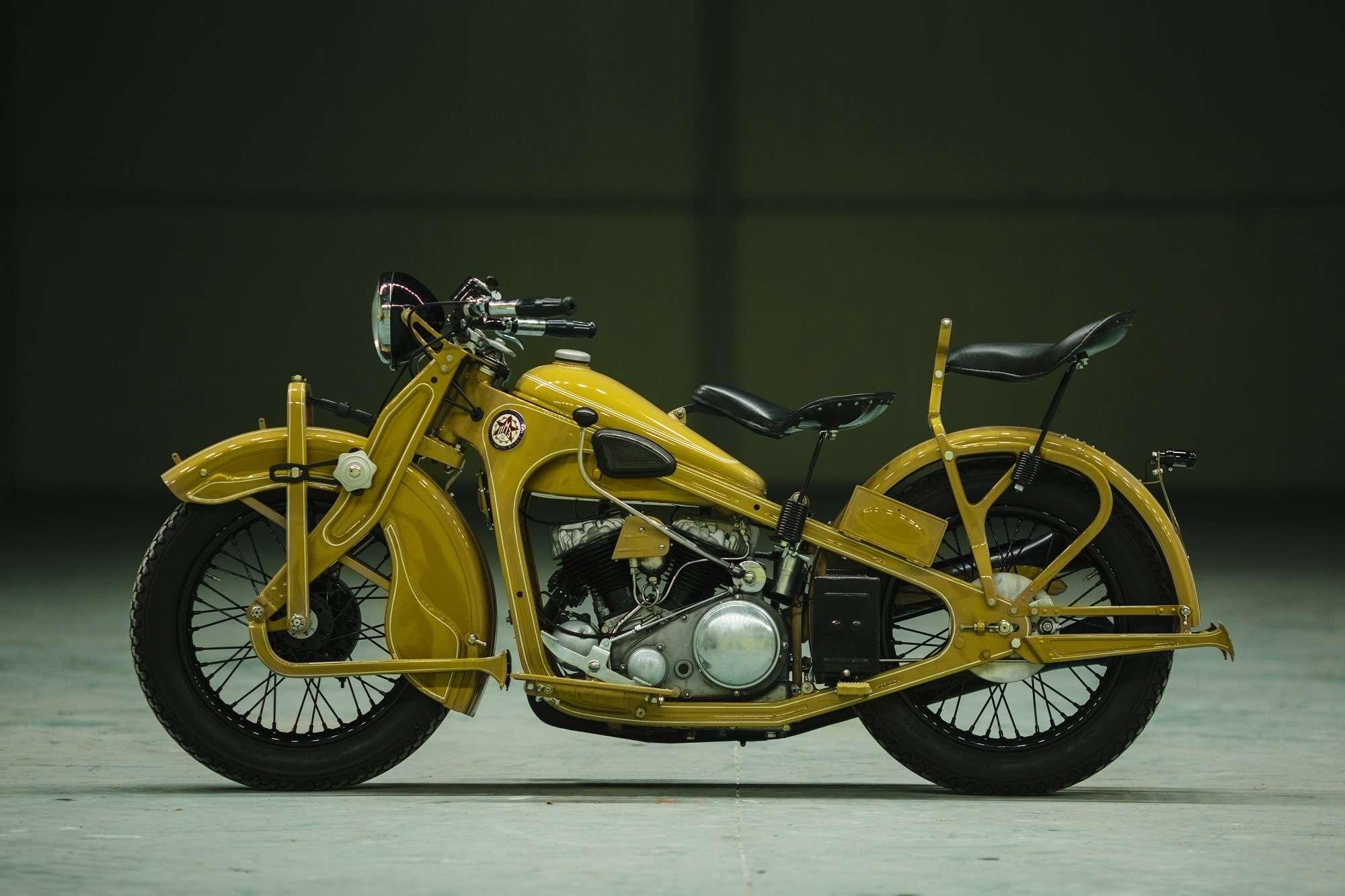 Тяжелый мотоцикл ПМЗ А-750: как Harley-Davidson оказался входовой BMW— фото 927414