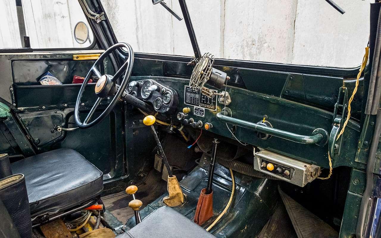 Ретротест знаменитого «козлика» ГАЗ-69: нанем ездили Анискин иМухтар— фото 901933