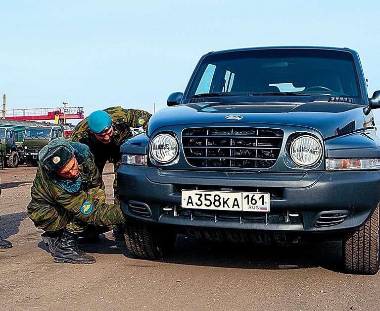 Военная приемка автомобиля длилась более 40минут.