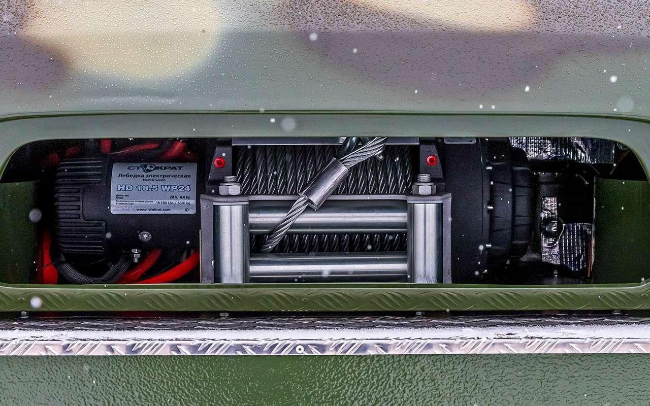 Гусеничный Ирбис: тест снегоболотохода напрочность— фото 961071