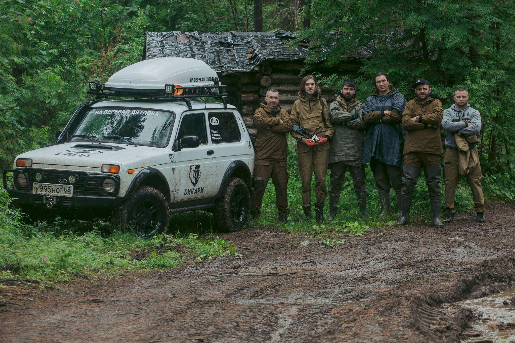 Фанаты Lada 4x4 собрались вГермании— фото 608825