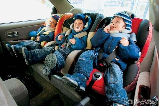 Обозрение детских кресел. Автолюлька навырост— фото 64588