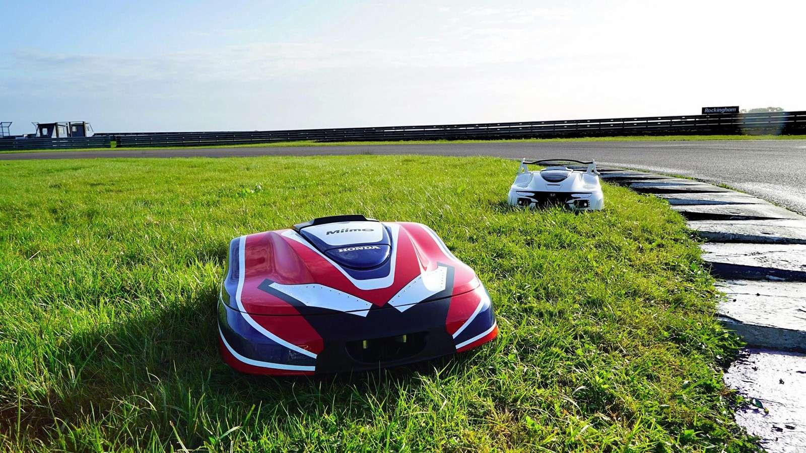 Honda рассекретила электрический автономный Type R.Для лужайки— фото 793268